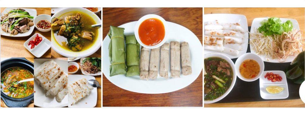 thanh ha Bánh mướt Nghệ An tại Hà Nội