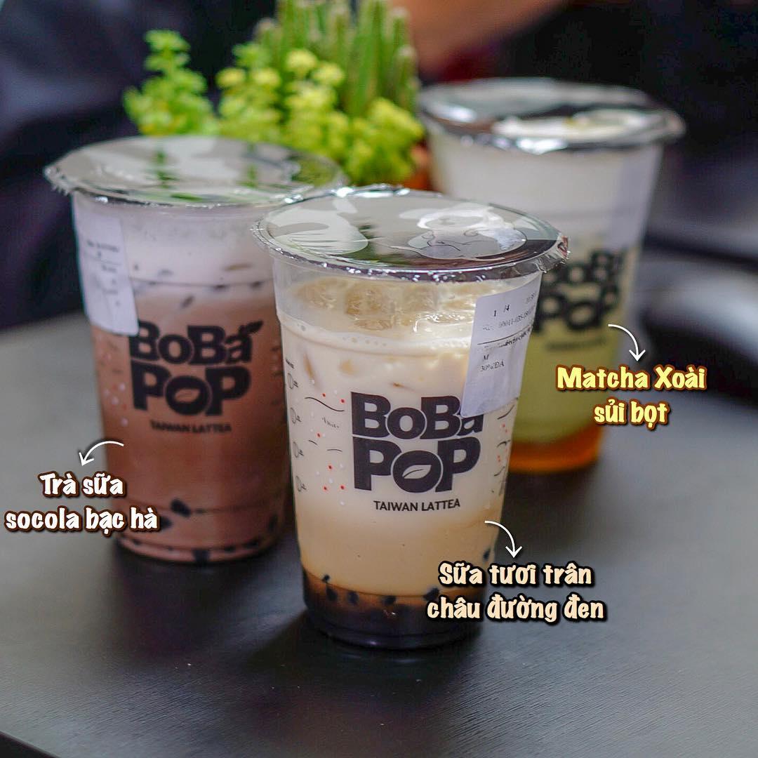 Bobapop - trà sữa cần thơ