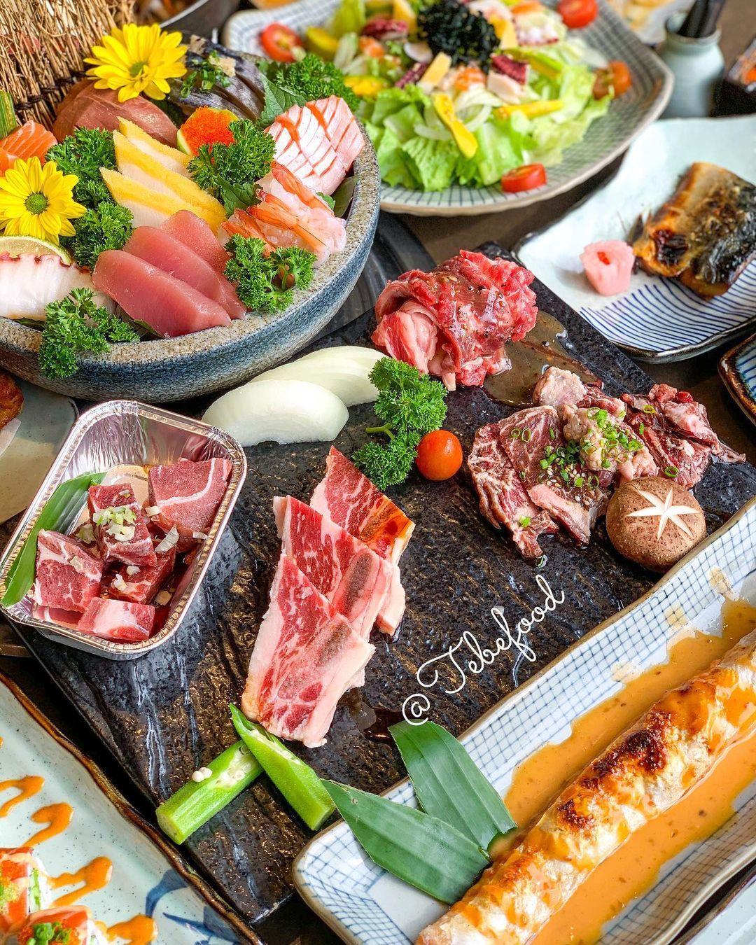 buffet sushi ngon hap dan