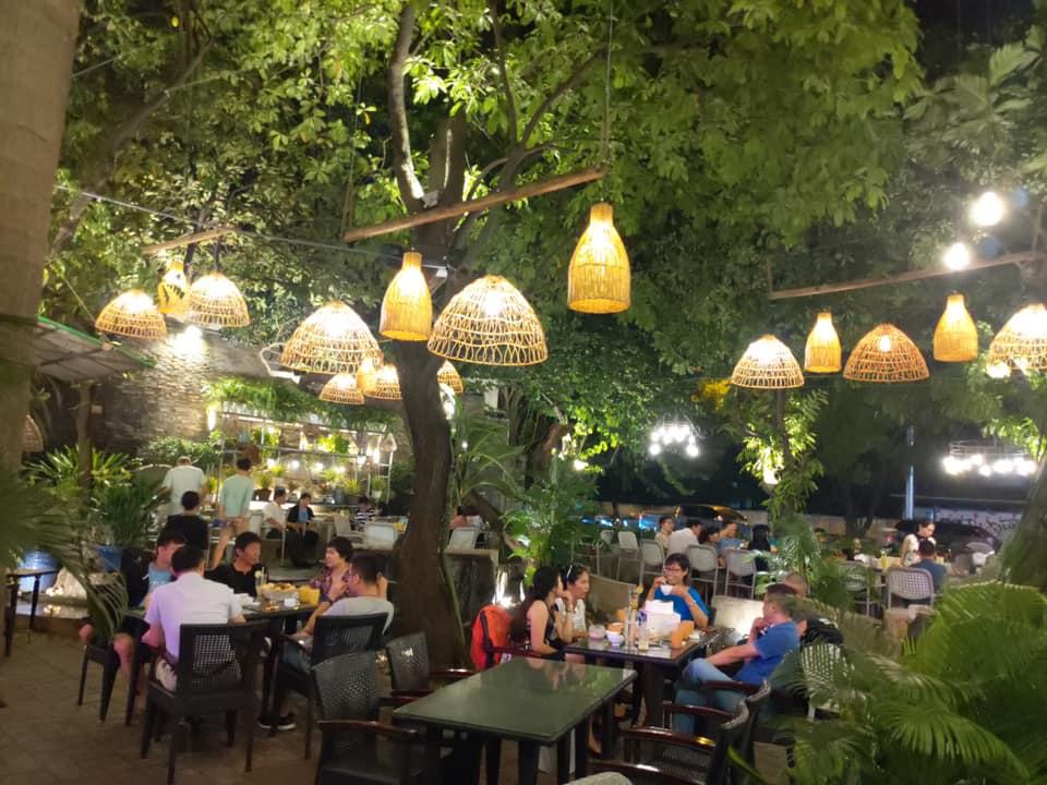 khong gian suoi da - nhà hàng sân vườn quận 3
