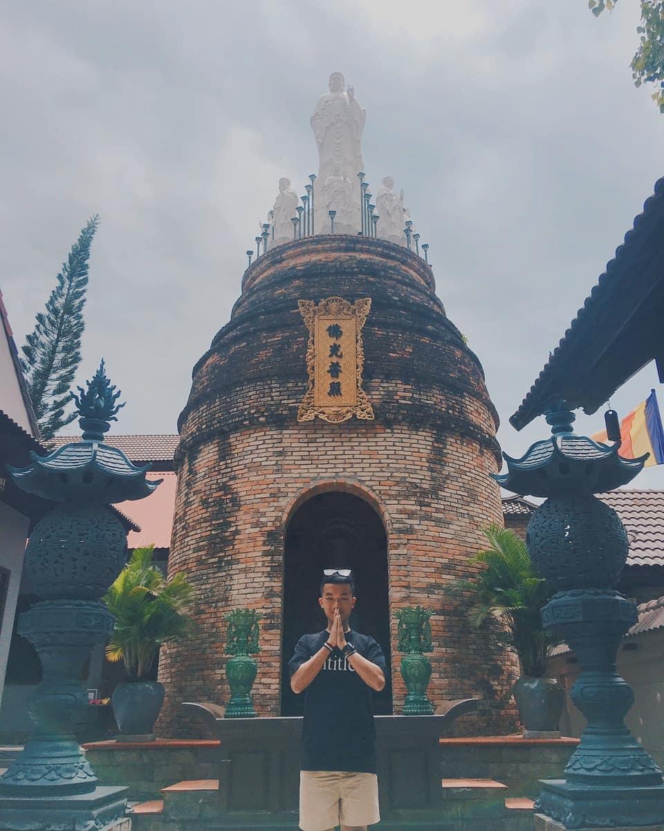 Chua Phat Da - dia diem du lich Ha Tien