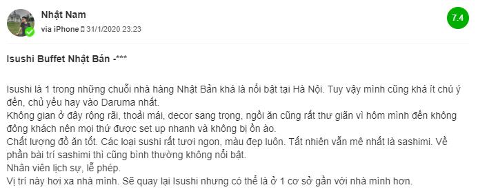 Review cua khach hang