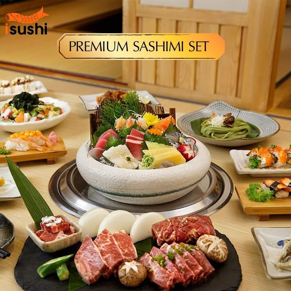 buffet sashimi