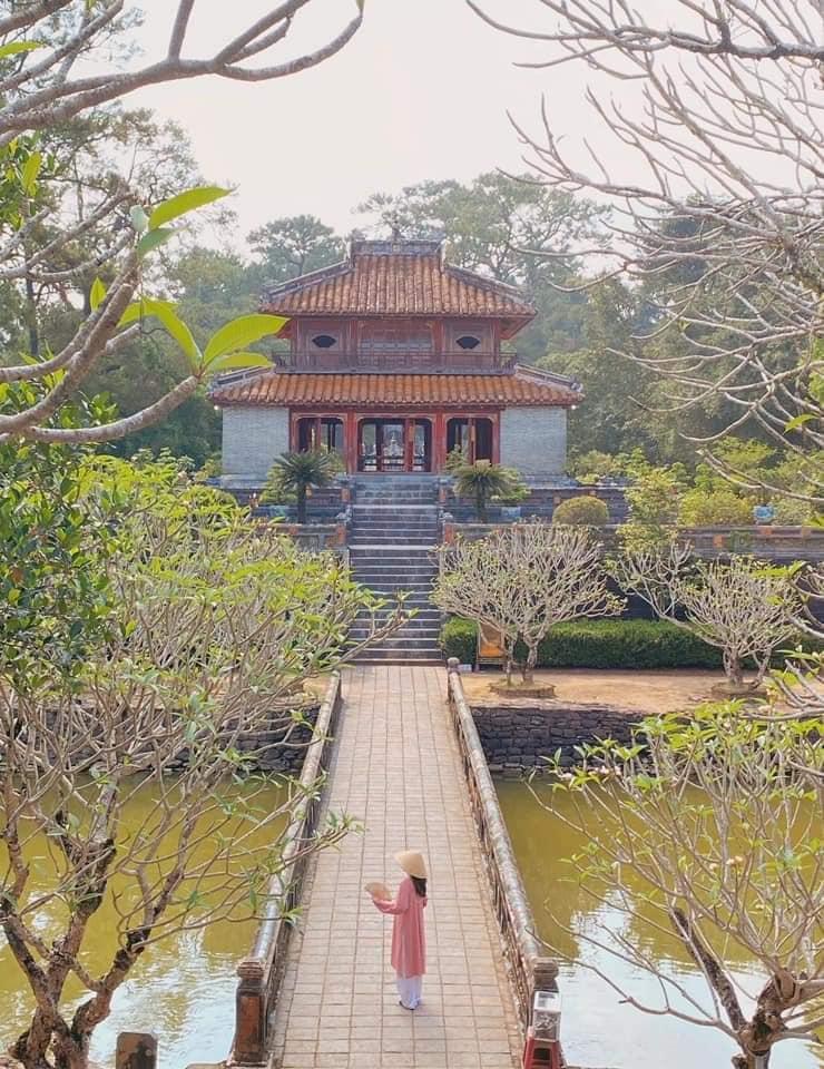 Lăng Minh Mạng - góc check in Huế