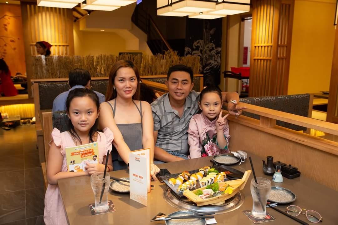 ăn uống tại isushi