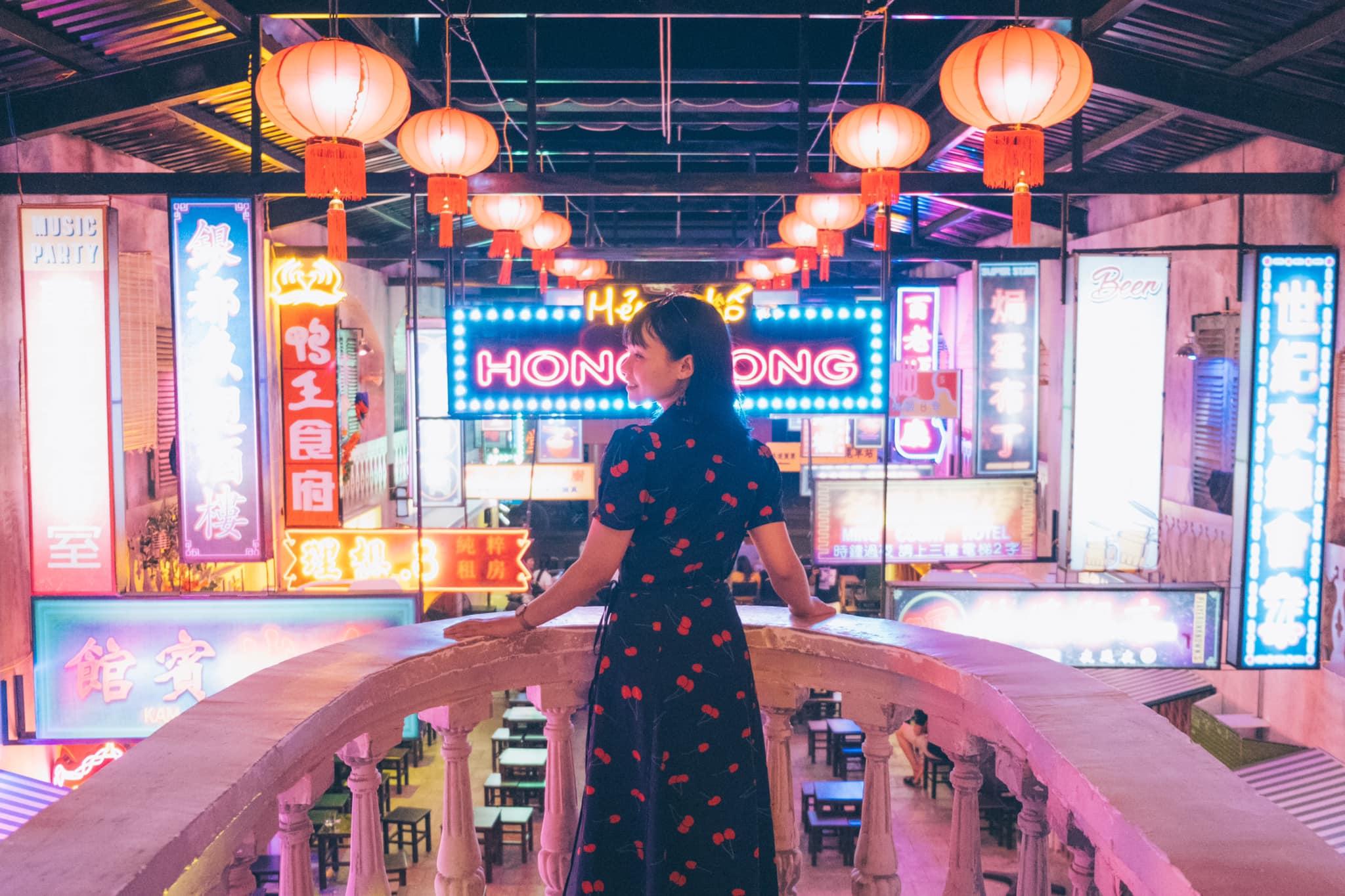 Hẻm phố HongKong Night Street Phan Rang